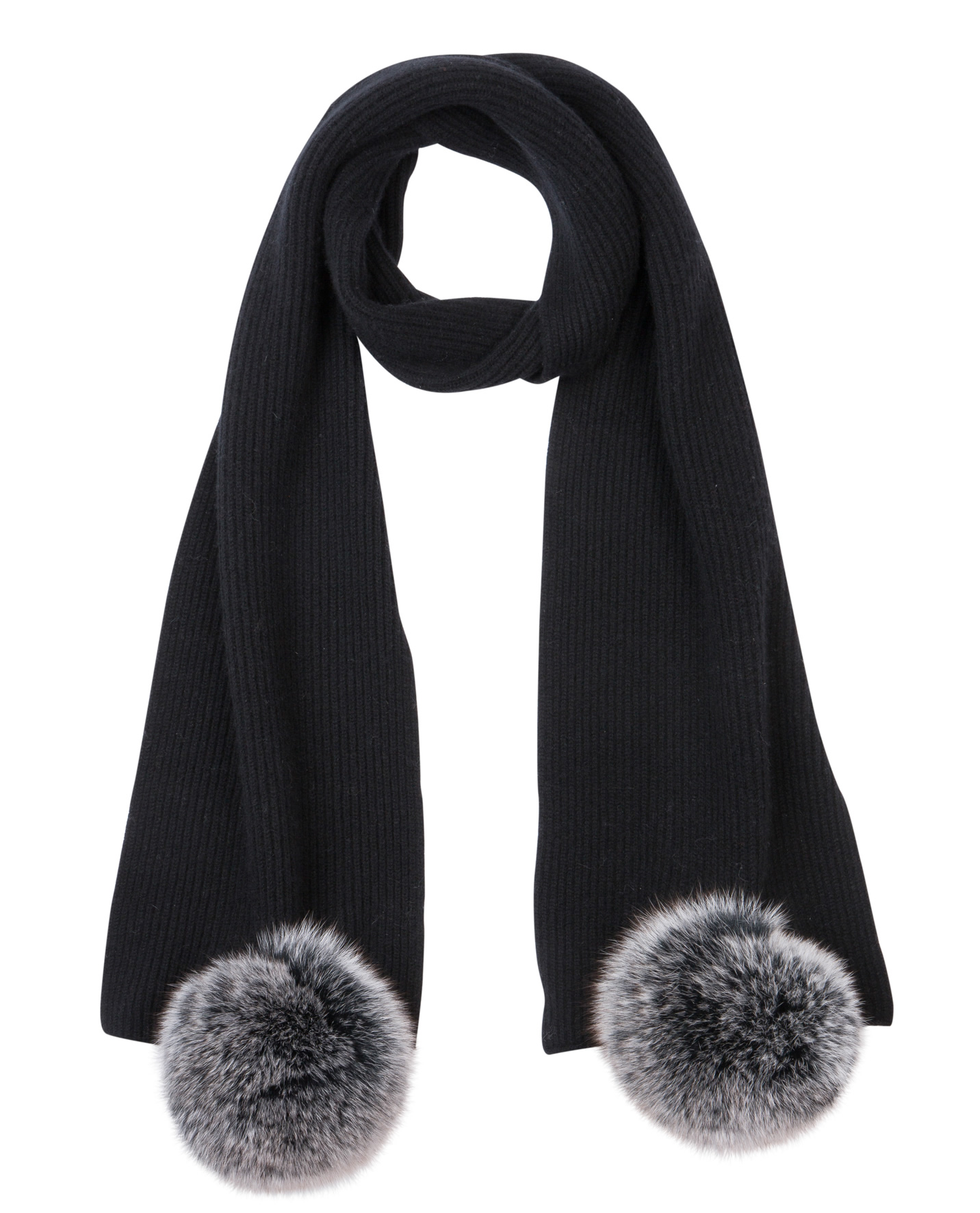 Black alano scarf