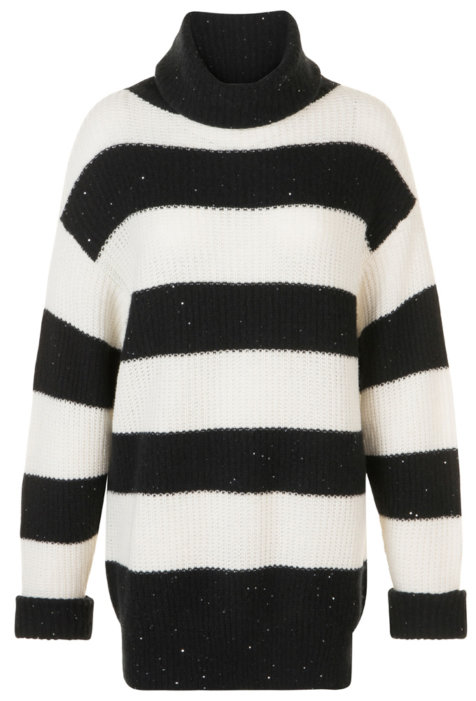 pieric black striped jumper