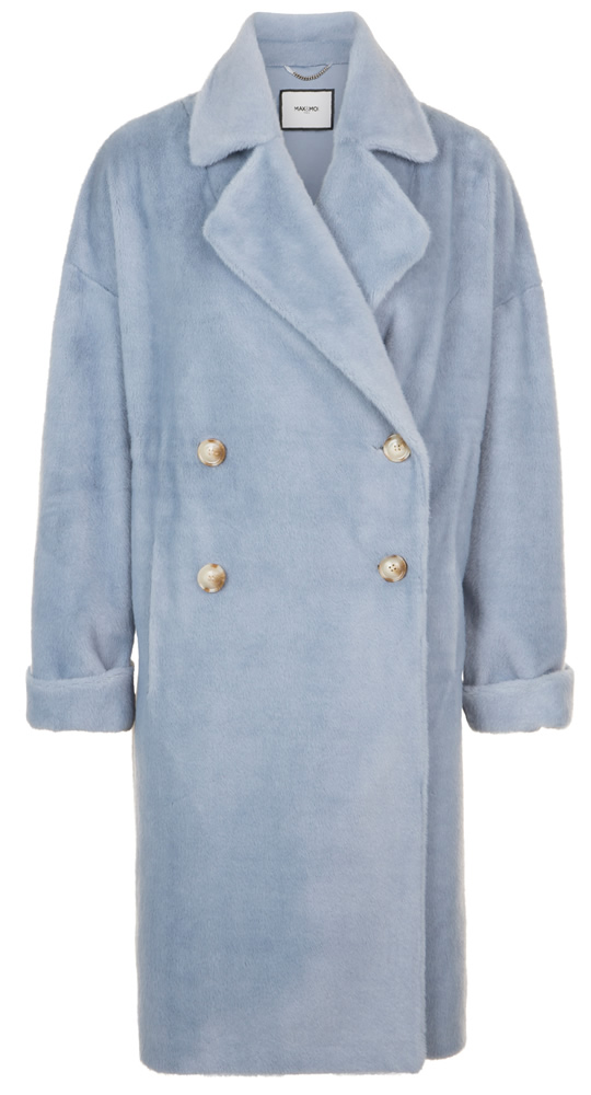 Mady blue oversized coat