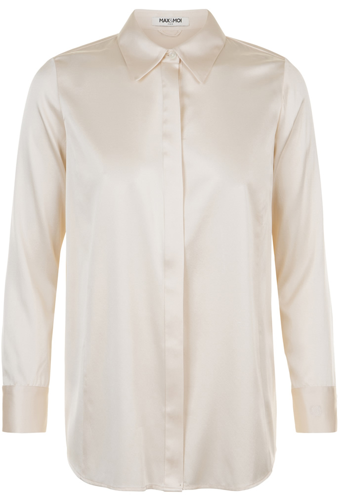 Levy powder silk shirt