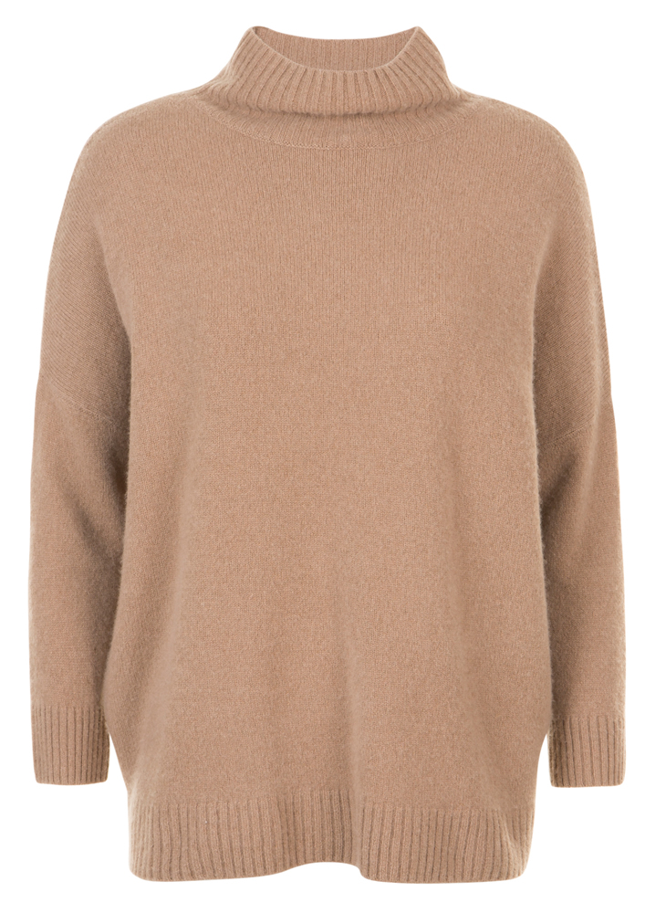 Pat brown jumper