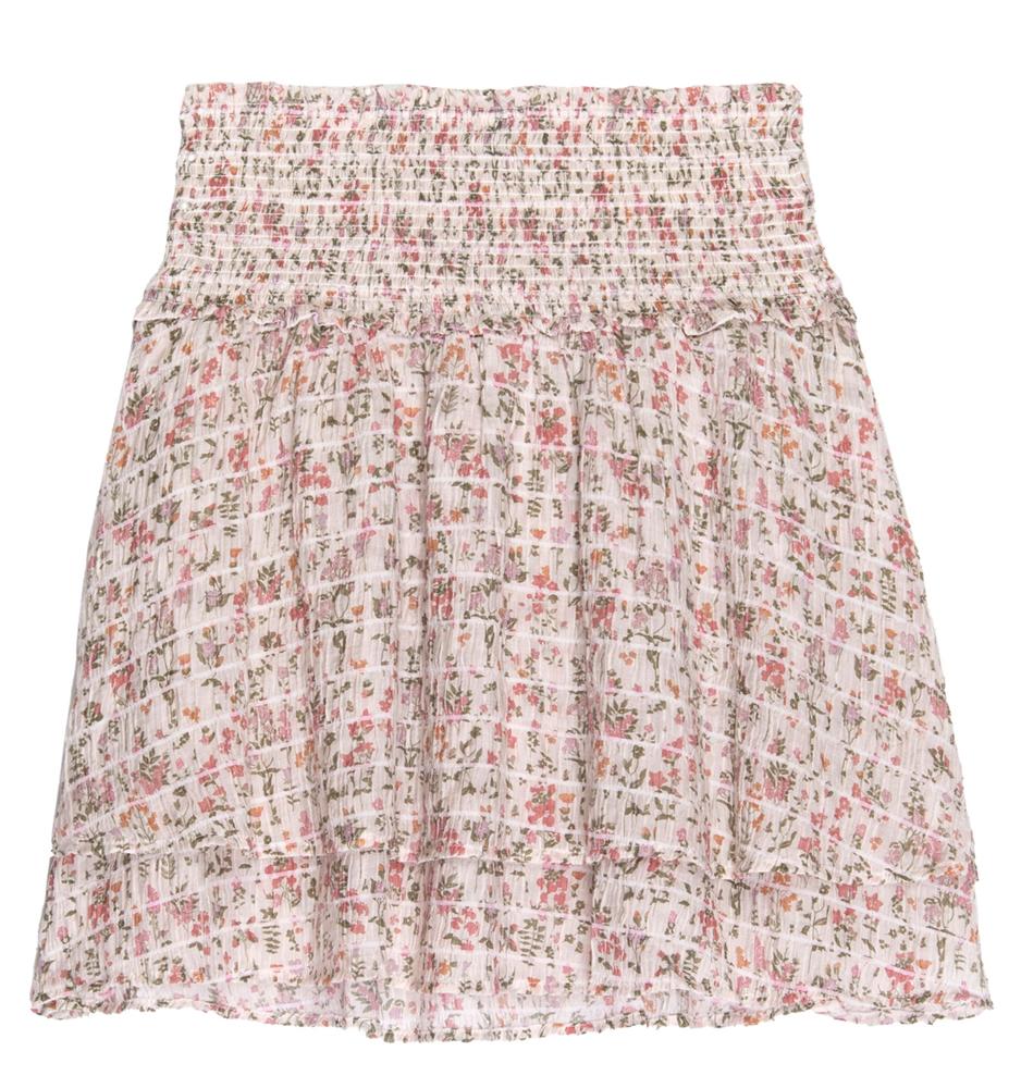 Addison floral skirt