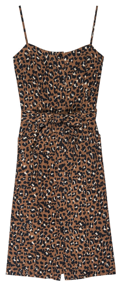 Evie leopard dress