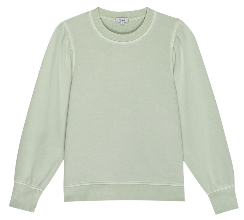 Marcie mint sweatshirt