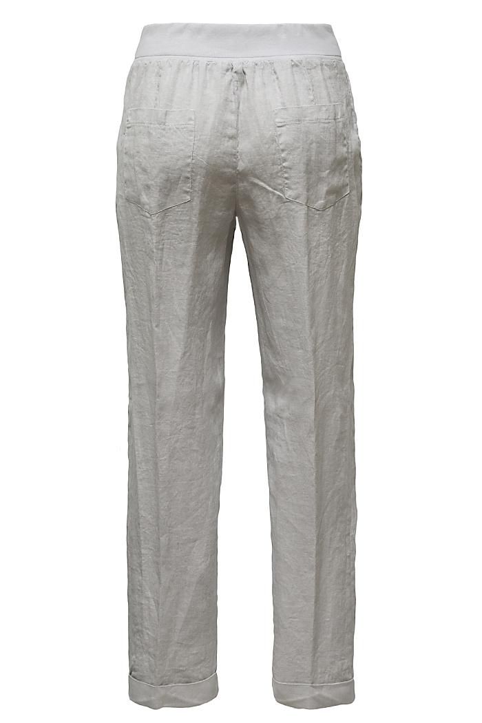 Pale grey linen trousers