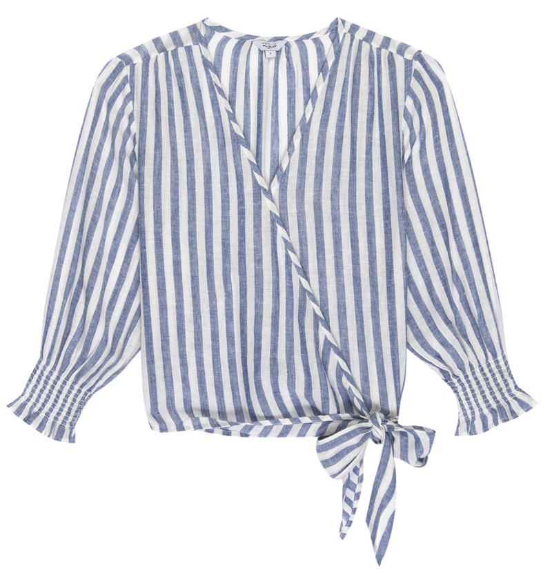 Raquel striped blouse