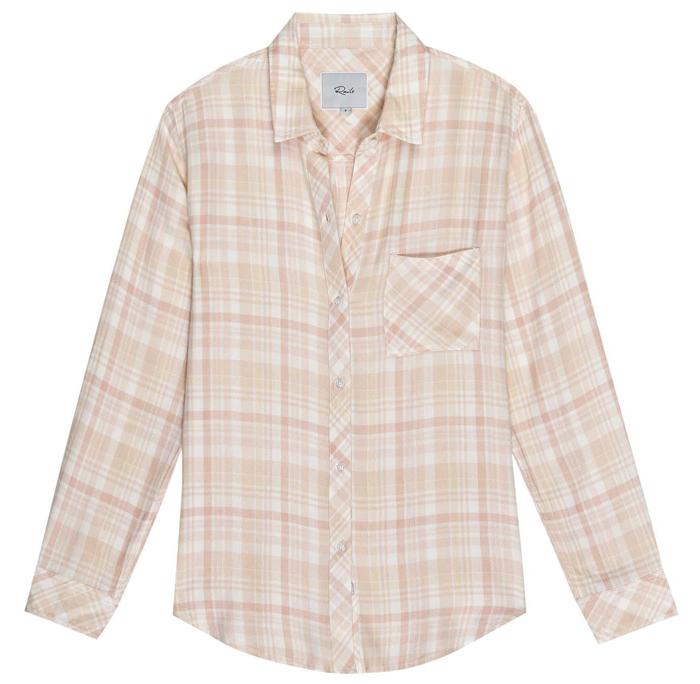 Hunter peach shirt