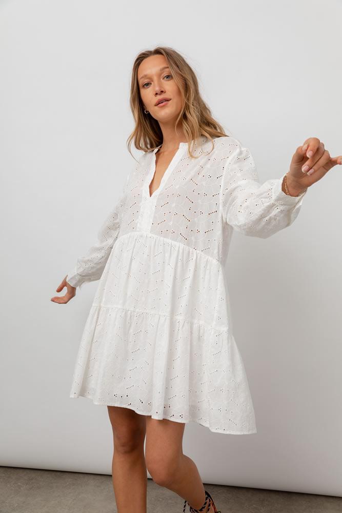 Layla white dress