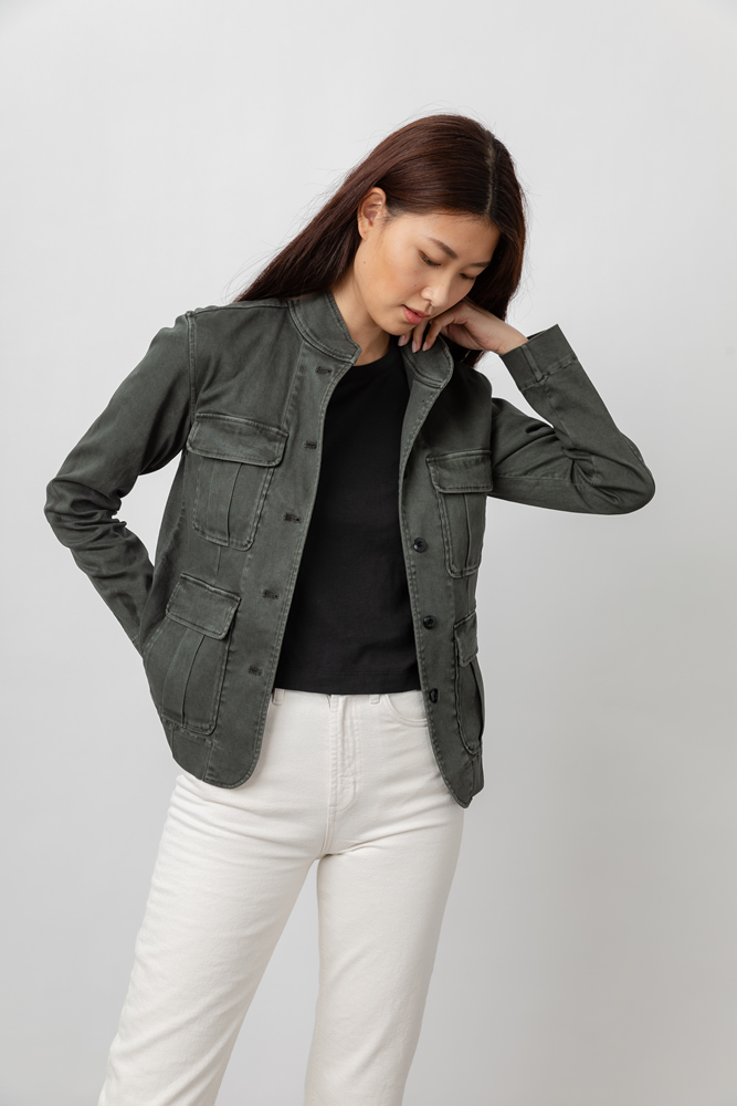 Afton military jacket